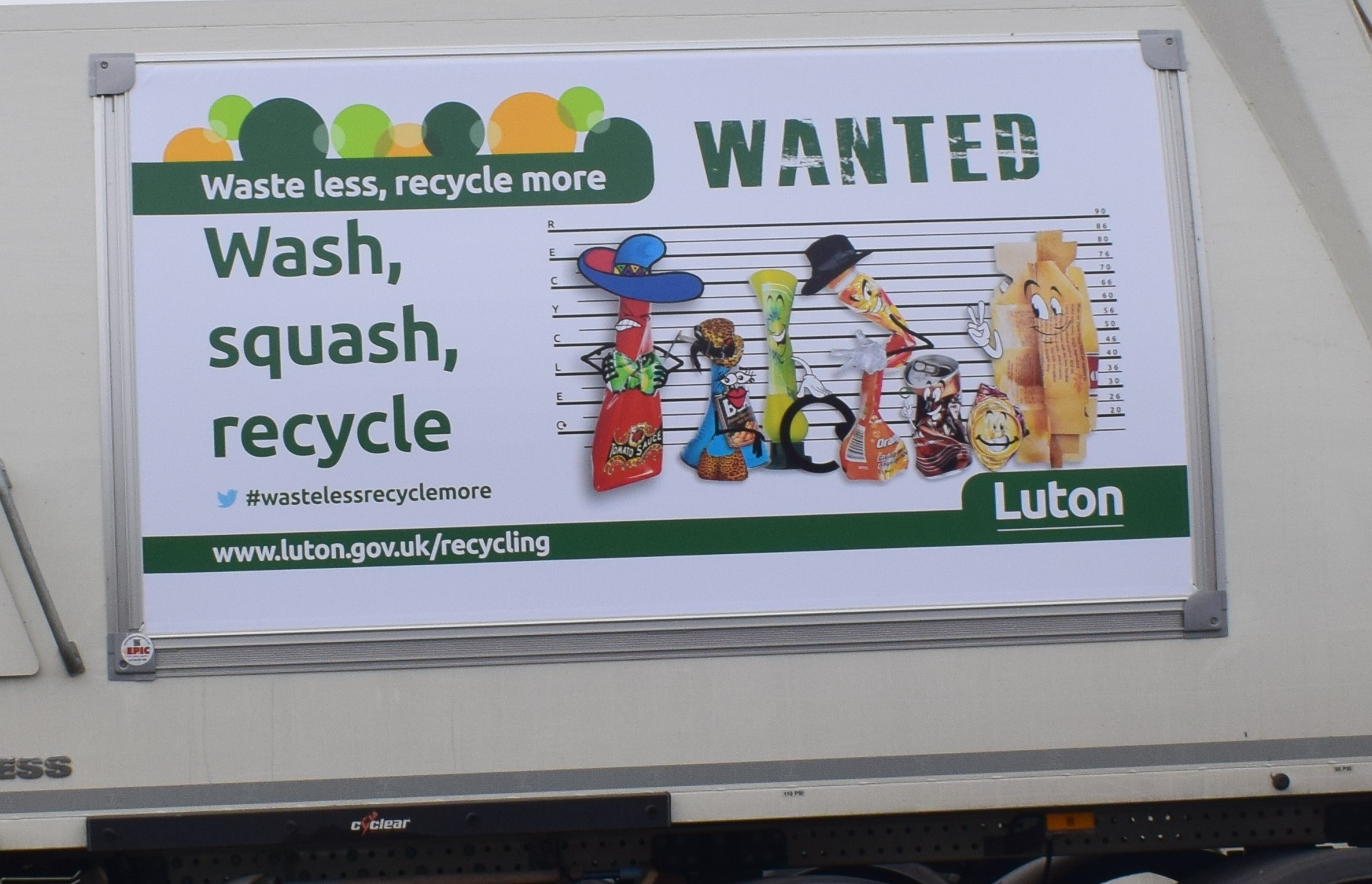 Promote plastic recycling!