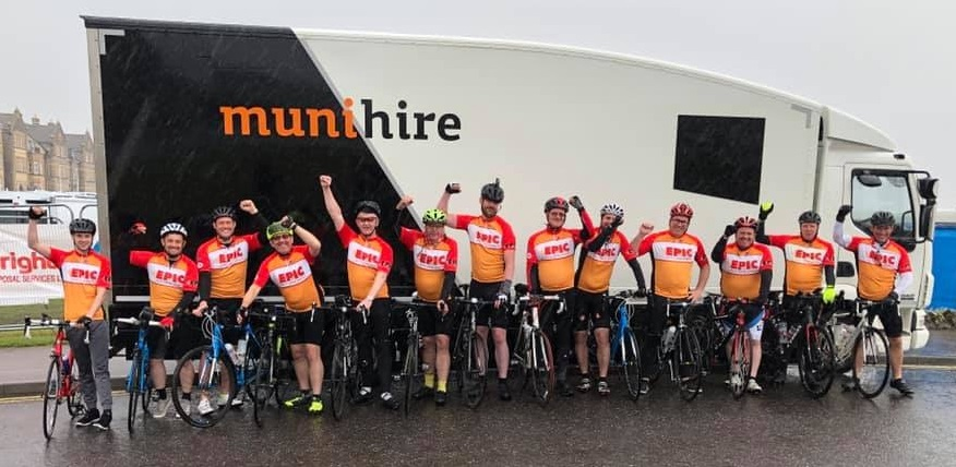 An EPIC charity bike ride!