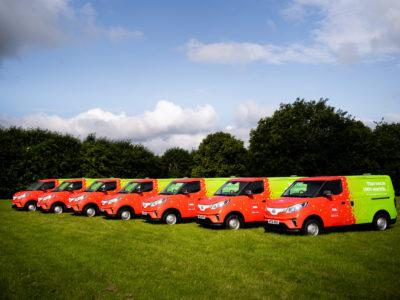 Electric fleet for Biffa
