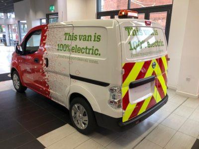 Electric van Nissan