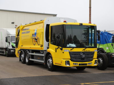 Manchester Electric trucks for Biffa