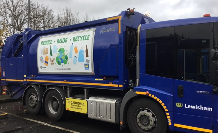 IMPROVED RECYCLING FIGURES IN LEWISHAM